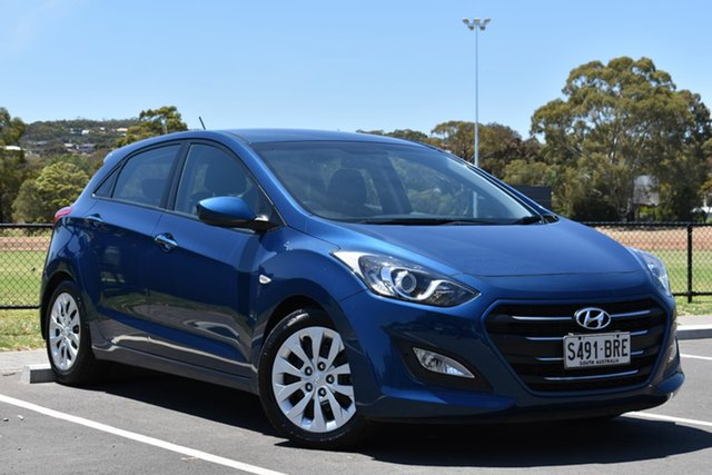 Used Hyundai i30 GD3 Series II MY16 Active, 2015 Hyundai i30 GD3 Series II MY16 Active Blue 6 Speed Sports Automatic Hatchback