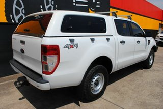 2013 Ford Ranger PX XL Double Cab Cool White 6 Speed Sports Automatic Utility.