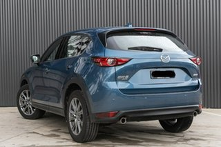 2019 Mazda CX-5 KF4WLA Akera SKYACTIV-Drive i-ACTIV AWD Eternal Blue 6 Speed Sports Automatic Wagon
