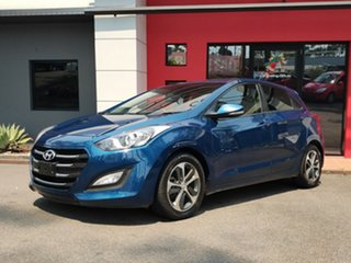 2015 Hyundai i30 GD3 Series II MY16 Active X Dark Blue 6 Speed Manual Hatchback