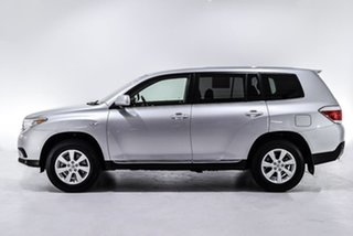 2013 Toyota Kluger GSU40R MY12 KX-R 2WD Silver 5 Speed Sports Automatic Wagon