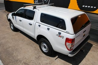 2013 Ford Ranger PX XL Double Cab Cool White 6 Speed Sports Automatic Utility