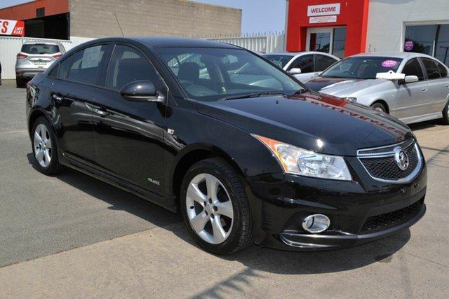 Used Holden Cruze JH MY12 SRi, 2011 Holden Cruze JH MY12 SRi Black 6 Speed Automatic Sedan
