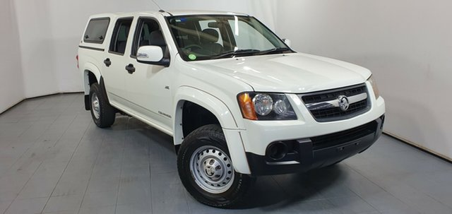 Used Holden Colorado RC MY10 LX 4x2, 2010 Holden Colorado RC MY10 LX 4x2 White 4 Speed Automatic Cab Chassis