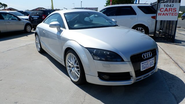 Used Audi TT 8J S Tronic, 2008 Audi TT 8J S Tronic Silver 6 Speed Sports Automatic Dual Clutch Coupe