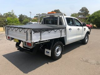 2014 Ford Ranger PX XL 2.2 (4x4) White 6 Speed Automatic Crew Cab Chassis