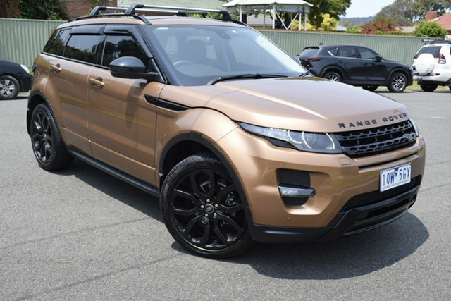 Used Land Rover Range Rover Evoque L538 MY15 SD4 Dynamic, 2015 Land Rover Range Rover Evoque L538 MY15 SD4 Dynamic Brown 9 Speed Sports Automatic Wagon
