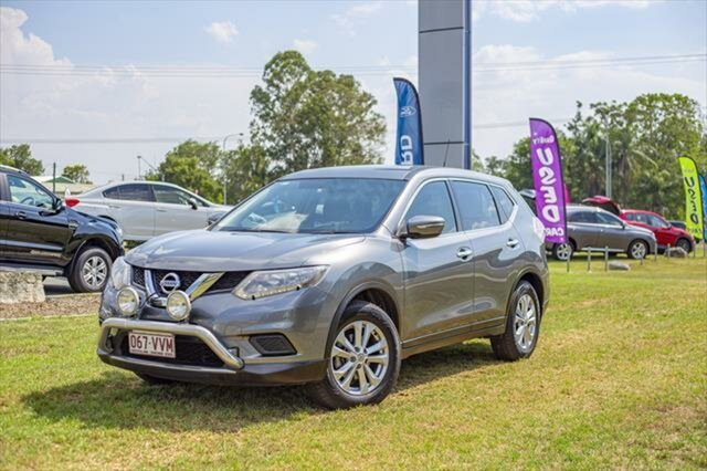 Used Nissan X-Trail T32 ST X-tronic 2WD, 2015 Nissan X-Trail T32 ST X-tronic 2WD Gun Metallic 7 Speed Constant Variable Wagon