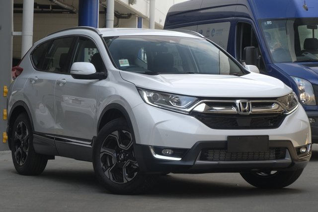 Demo Honda CR-V RW MY19 VTi-S 4WD, 2019 Honda CR-V RW MY19 VTi-S 4WD Platinum White 1 Speed Constant Variable Wagon