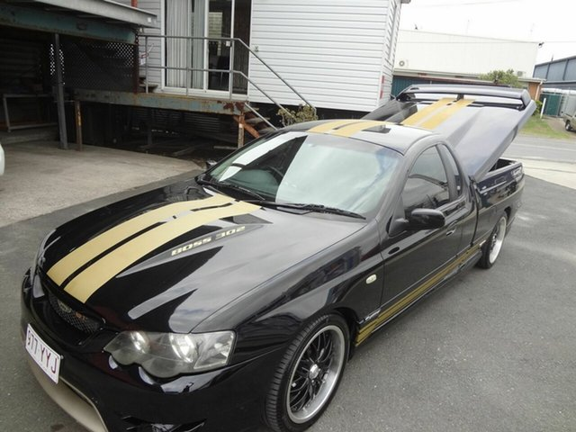 Used Ford Falcon BA XR8, 2003 Ford Falcon BA XR8 Black 4 Speed Auto Seq Sportshift Utility