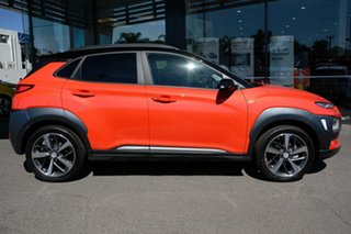 2020 Hyundai Kona OS.3 MY20 Highlander 2WD Tangerine Comet 6 Speed Sports Automatic Wagon