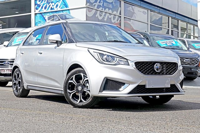 Demo MG MG3 SZP1 MY18 Excite, 2019 MG MG3 SZP1 MY18 Excite Silver 4 Speed Automatic Hatchback