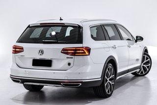 2018 Volkswagen Passat 3C (B8) MY18 Alltrack DSG 4MOTION Wolfsburg Edition White 7 Speed.