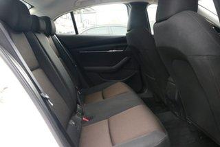 2021 Mazda 3 BP2S7A G20 SKYACTIV-Drive Pure Snowflake White 6 Speed Sports Automatic Sedan