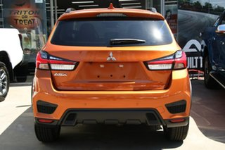 2020 Mitsubishi ASX XD MY21 Exceed 2WD Sunshine Orange 1 Speed Constant Variable Wagon
