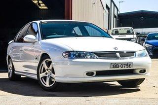 2000 Holden Berlina VX White 4 Speed Automatic Sedan.