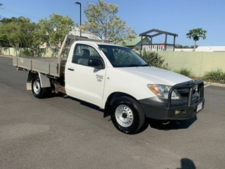 2006 Toyota Hilux TGN16R Workmate White 5 Speed Manual Single Cab