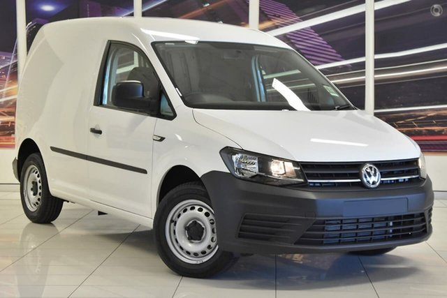 New Volkswagen Caddy 2KN TDI250, 2019 Volkswagen Caddy 2KN TDI250 White 6 Speed Sports Automatic Dual Clutch Van