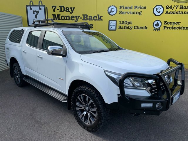 Used Holden Colorado RG MY18 LTZ Pickup Crew Cab, 2018 Holden Colorado RG MY18 LTZ Pickup Crew Cab Summit White 6 Speed Sports Automatic Utility