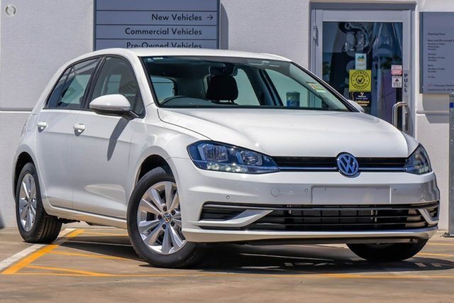 New Volkswagen Golf 7.5 MY20 110TSI DSG Trendline, 2019 Volkswagen Golf 7.5 MY20 110TSI DSG Trendline White 7 Speed Sports Automatic Dual Clutch