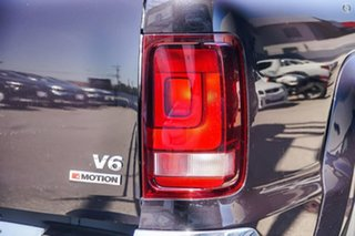 2019 Volkswagen Amarok 2H MY19 TDI550 4MOTION Perm Highline Black 8 Speed Automatic Utility.