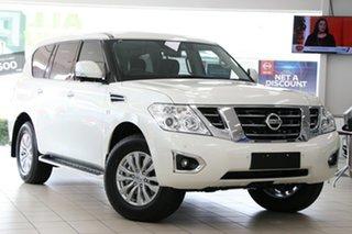 2020 Nissan Patrol Y62 Series 5 MY20 TI-L Hermosa Blue 7 Speed Sports Automatic Wagon.