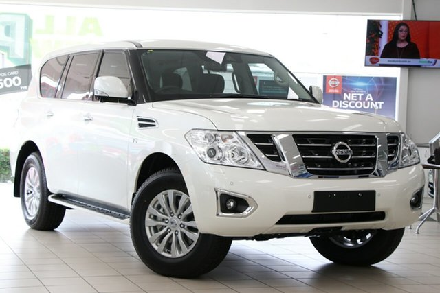 New Nissan Patrol Y62 Series 5 MY20 TI-L, 2020 Nissan Patrol Y62 Series 5 MY20 TI-L Hermosa Blue 7 Speed Sports Automatic Wagon