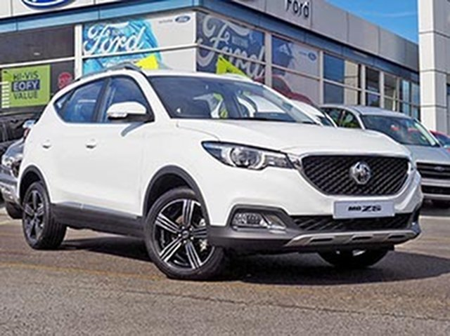 Demo MG ZS AZS1 MY19 Excite Plus 2WD, 2019 MG ZS AZS1 MY19 Excite Plus 2WD White 6 Speed Automatic Wagon
