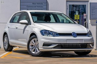 2019 Volkswagen Golf 7.5 MY20 110TSI DSG Trendline White 7 Speed Sports Automatic Dual Clutch