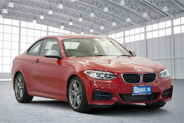 Used BMW 2 Series F22 M235I, 2014 BMW 2 Series F22 M235I Red 8 Speed Sports Automatic Coupe