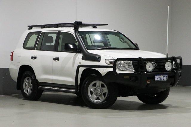 Used Toyota Landcruiser VDJ200R MY13 GX (4x4), 2014 Toyota Landcruiser VDJ200R MY13 GX (4x4) White 6 Speed Automatic Wagon