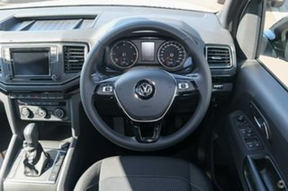 2019 Volkswagen Amarok 2H MY19 TDI580 4MOTION Perm Highline Black White 8 Speed Automatic Utility