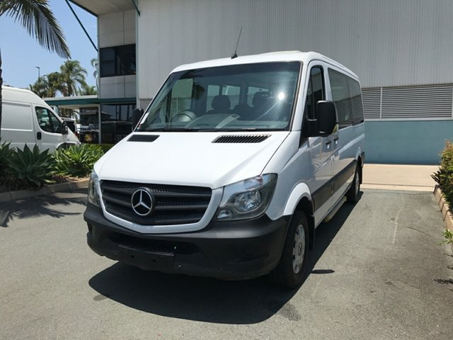 Used Mercedes-Benz Sprinter NCV3 313CDI Low Roof MWB 7G-Tronic Transfer, 2017 Mercedes-Benz Sprinter NCV3 313CDI Low Roof MWB 7G-Tronic Transfer White 7 speed Automatic Bus