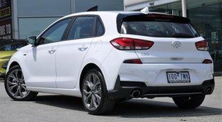 2019 Hyundai i30 PD.3 MY19 N Line D-CT Polar White 7 Speed Sports Automatic Dual Clutch Hatchback