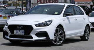 2019 Hyundai i30 PD.3 MY19 N Line D-CT Polar White 7 Speed Sports Automatic Dual Clutch Hatchback.