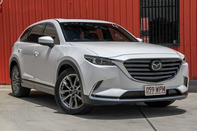 Used Mazda CX-9 TC Azami SKYACTIV-Drive i-ACTIV AWD, 2016 Mazda CX-9 TC Azami SKYACTIV-Drive i-ACTIV AWD White 6 Speed Sports Automatic Wagon