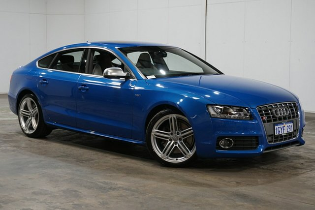 Used Audi S5 8T MY11 Sportback S Tronic Quattro, 2011 Audi S5 8T MY11 Sportback S Tronic Quattro Blue 7 Speed Sports Automatic Dual Clutch Hatchback