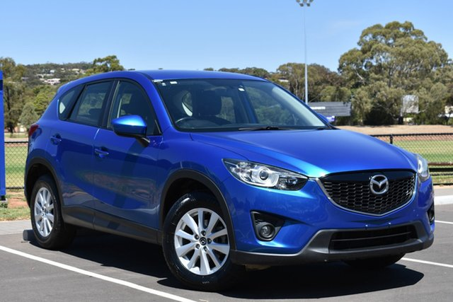 Used Mazda CX-5 KE1071 Maxx SKYACTIV-Drive, 2012 Mazda CX-5 KE1071 Maxx SKYACTIV-Drive Blue 6 Speed Sports Automatic Wagon