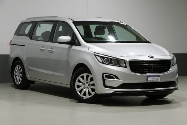 Used Kia Carnival YP MY18 S, 2018 Kia Carnival YP MY18 S Silver 6 Speed Automatic Wagon