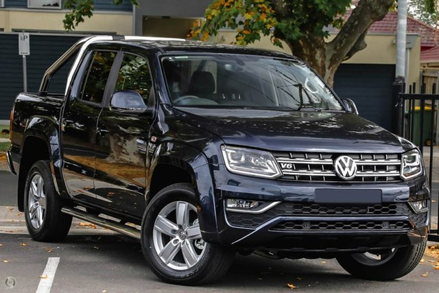 New Volkswagen Amarok 2H MY19 TDI550 4MOTION Perm Highline, 2019 Volkswagen Amarok 2H MY19 TDI550 4MOTION Perm Highline Blue 8 Speed Automatic Utility