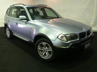 2004 BMW X3 E83 Steptronic Silver 5 Speed Sports Automatic Wagon.
