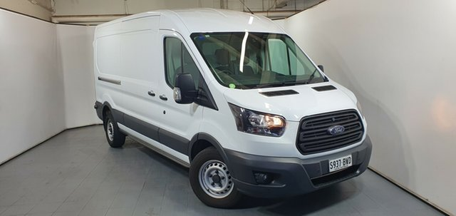 Used Ford Transit VO 350L Mid Roof LWB, 2017 Ford Transit VO 350L Mid Roof LWB White 6 Speed Automatic Van