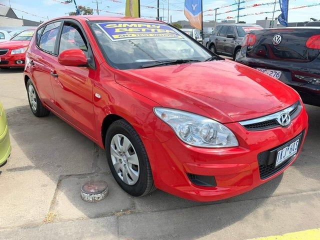 Used Hyundai i30 FD MY10 SX, 2010 Hyundai i30 FD MY10 SX Red 4 Speed Automatic Hatchback