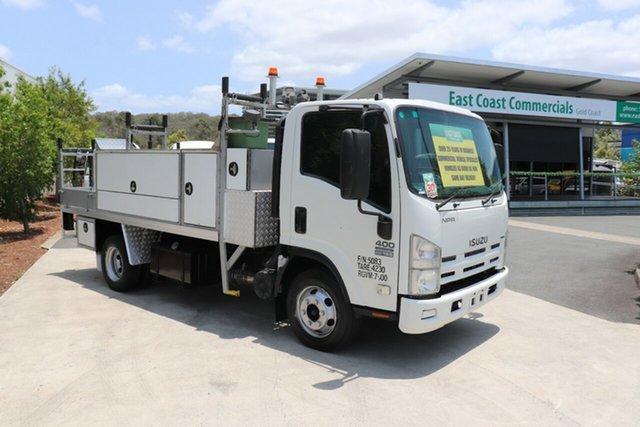 Used Isuzu NPR 400  400, 2011 Isuzu NPR 400 400 White Manual Truck