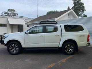 2018 Holden Colorado RG MY18 LTZ Pickup Crew Cab Summit White 6 Speed Sports Automatic Utility