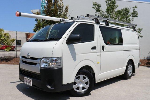 Used Toyota HiAce KDH201R LWB, 2017 Toyota HiAce KDH201R LWB White 4 speed Automatic Van