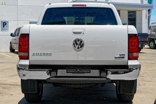 2019 Volkswagen Amarok 2H MY19 TDI550 4MOTION Perm Sportline White 8 Speed Automatic Utility.