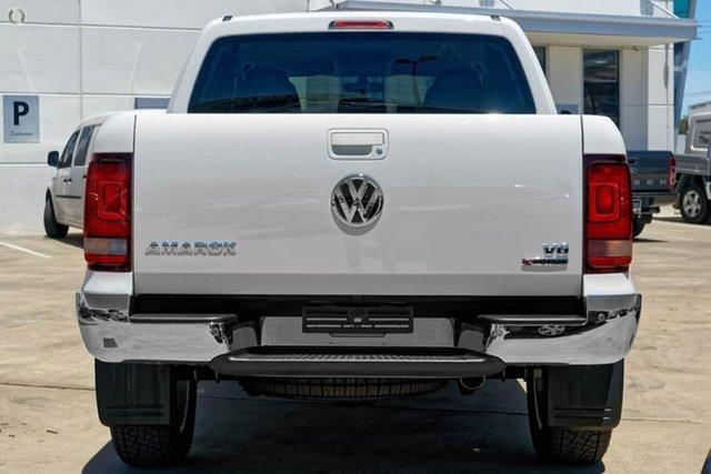 New Volkswagen Amarok 2H MY19 TDI550 4MOTION Perm Sportline, 2019 Volkswagen Amarok 2H MY19 TDI550 4MOTION Perm Sportline White 8 Speed Automatic Utility