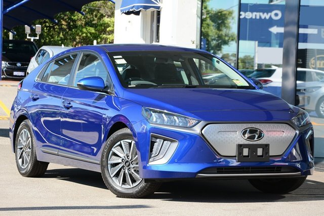 New Hyundai Ioniq AE.3 MY20 electric Premium, 2019 Hyundai Ioniq AE.3 MY20 electric Premium Polar White 1 Speed Reduction Gear Fastback