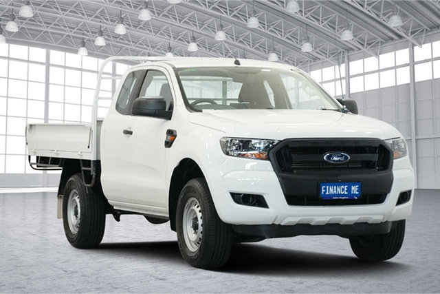 Used Ford Ranger PX MkII XL Super Cab, 2016 Ford Ranger PX MkII XL Super Cab White 6 Speed Sports Automatic Cab Chassis